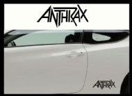ANTHRAX CAR BODY DECALS
